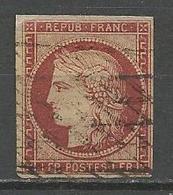 CERES N° 6 OBL - 1849-1850 Ceres