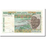 Billet, West African States, 500 Francs, 1991-2002, 2002, KM:110Am, TTB - États D'Afrique De L'Ouest
