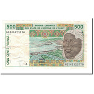 Billet, West African States, 500 Francs, 1991-2002, 2002, KM:110Am, TTB - West African States