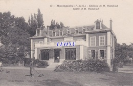 CPA De  MAZINGARBE (62) - CHATEAU De M. WATTEBLED N° 13 - JARDINIER - édit FAUCHOIS - France