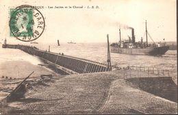 CPA - France - (59)  Nord - Dunkerque - Les Jetées Et Le Chenal - Dunkerque