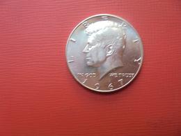 U.S.A 1/2$ 1967 ARGENT QUALITE FDC - EDICIONES FEDERALES