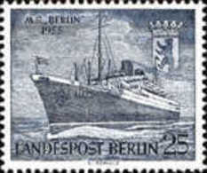 BERLIN USED STAMPS  -M/S Berlin- 1955 - [5] Berlin