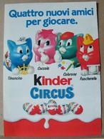 MONDOSORPRESA, PUBBLICITA' (PB18) KINDER FERRERO, KINDER CIRCUS - Kinder & Diddl