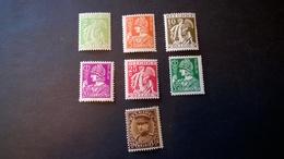 335-341** (1932) Vendu à Moins De 20% De La Valeur Catalogue (25,00) - 1932 Cérès Et Mercure