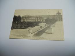 78 YVELINES CARTE ANCIENNE EN N/BL  DE 1924 VERSAILLES CHATEAU L'AILE ET LA PIERRE NORD N°61 EDIT LEVY - Versailles (Château)
