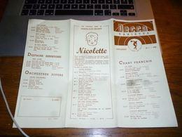Catalogue Disques Decca Variétés  Platen  Supplément 1954 - Music & Instruments