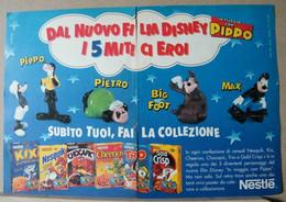 MONDOSORPRESA, PUBBLICITA' (PB33) NESTLE IN VIAGGIO CON PIPPO - Kinder & Diddl
