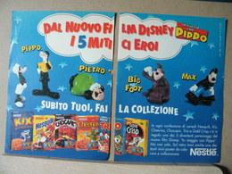 MONDOSORPRESA, PUBBLICITA' (PB34) NESTLE IN VIAGGIO CON PIPPO - Kinder & Diddl