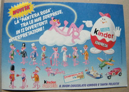 MONDOSORPRESA, PUBBLICITA' (PB38) FERRERO PANTERE ROSA - COMPONIBILI - Kinder & Diddl