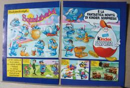 MONDOSORPRESA, PUBBLICITA' (PB39) FERRERO SQUALIBABA' - Kinder & Diddl