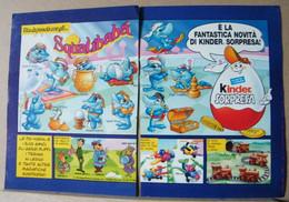 MONDOSORPRESA, PUBBLICITA' (PB40) FERRERO SQUALIBABA' - Kinder & Diddl