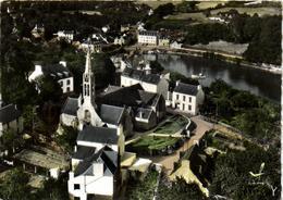 1 Cpsm La Forêt Fouesnant - L'église Et L'anse De La Forêt - Zonder Classificatie