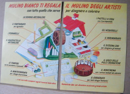 MONDOSORPRESA, PUBBLICITA' (PB45) MULINO BIANCO ILMULINO DEGLI ARTISTI - Non Classés