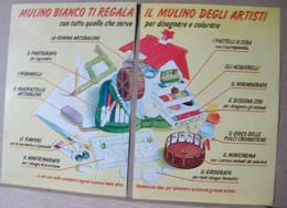 MONDOSORPRESA, PUBBLICITA' (PB45) MULINO BIANCO ILMULINO DEGLI ARTISTI - Non Classificati