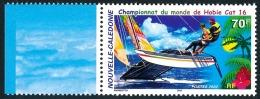 NOUV.-CALEDONIE 2002 - Yv. 867 ** Bdf  Faciale= 0,59 EUR - Voiliers Honnie Cat 16. Championnat Du Monde  ..Réf.NCE24103 - New Caledonia