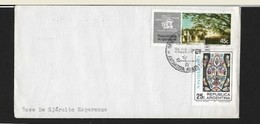 ANTARTIDE ARGENTINA BASE DEL EJERCITO ESPERANZA  WITH CANCELLED OF THE BASE IN ARTIC TO BUENOS AIRES - Stamps