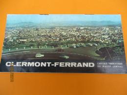 Fascicule Touristique/Clermont-Ferrand/Capitale  Touristique Du Massif Central/ Auvergne/ Années 1950              DT24 - Tourism Brochures