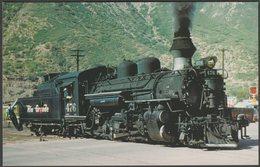 Denver & Rio Grande Western Railroad K-28 Mikado #476 - Railcards Postcard - Trains