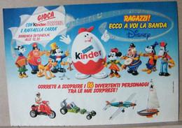 MONDOSORPRESA, PUBBLICITA' (PB55) KINDER FERRERO, COMPONIBILI, LA BANDA DISNEY - Non Classés