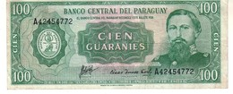 Paraguay P.205 100 Guarani 1982   Vf - Paraguay