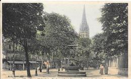 Boulevard Saint Pierre Et Fontaine Des Trois Grâces - Caen