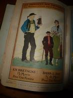 1909 En BRETAGNE 13 Maris Pour 1 Femme, En ALSACE  2/3 De Mari Pour 1 Femme;etc (éd. Luxe) ALMANACH HACHETTE - Encyclopédies