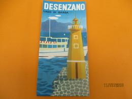 Dépliant  Touristique à 10 Volets/ DESENZANO/Lago Di Garda/ITALIE// Années 1950              DT25 - Tourism Brochures