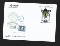 """ANTARTIDE ARGENTINA  2013 """" BASE ESPERANZA""""  TRAVELLED - Stamps"""