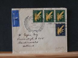 80/089     LETTRE   U.N. 1954 - Lettres & Documents
