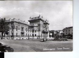 U3353 Cartolina 1959 SALSOMAGGIORE (Parma) TERME BERZIERI +COPPIA CON CARROZZINO _ Pace E C. 16 Ed Rossi - Italien