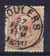 BELGIQUE ( POSTE ) : Y&T N°  51  TIMBRE  TRES  TRES  BIEN  OBLITERE . - 1883 Leopold II