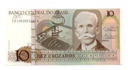 Brasile - 1986 - Banconota Da 10 Cruzados - Nuova - (FDC12177) - Brasile