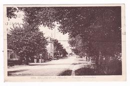 Jolie CPSM Jullouville (Manche), Avenue D'Avranches, A Voyagé En 1932 - France