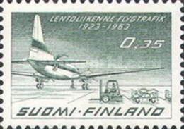 USED STAMP Finland - The 40th Anniversary Of Finnair-1963 - Indonesia