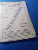 Joli Carnet  CPA  10 Vues PETITE SUISSE LUXEMBOURGEOISE  Complet  édition BELLWALD - Cartes Postales
