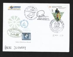 ANTARTIDE ARGENTINA  2013 BASE JUBANY TRAVELLED - Stamps