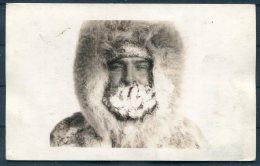1934 USA Byrd Antarctic Expedition Postcard. Little America, S.S. BEAR OF OAKLAND Ship Antarctica - Polar Explorers & Famous People