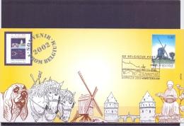 België - Souvenir From Belgium - O.L.V. Lombeek - 2002  (RM13283) - Molens