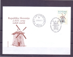 Slovenija - Vetrni Mlin  Stari Gori -  Sveti - Moulins