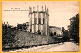 Burgos - Abside De La Cartuja De Miraflores - Fototipia De HAUSER Y MENET - Burgos