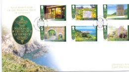 Guernsey - Le Moulin De Quanteraine -  FDC - (RM13321) - Moulins