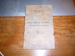 Armé Belge Carnet Sanitaire 21e Régiment De Ligne 10e Compagnie 1922 - Documents