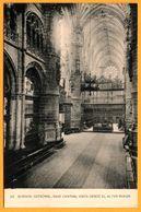 Burgos - Catedral - Nave Central Vista Desde El Altar Mayor - Fototipia De HAUSER Y MENET - Burgos