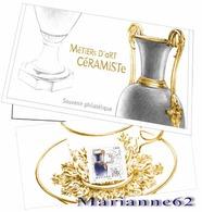 France 2018 Souvenir Métiers D'art Céramiste - Ceramist Keramiker - Canceled / Oblitéré - Blocs & Feuillets