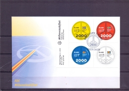 Millennieskiftet -  FDC - Michel 164-167 - Mariehamn 3/1/2000  (RM13436) - Aland