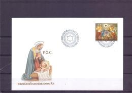 Kristendomen 2000  -  FDC - Michel 181 - Mariehamn 9/10/2000  (RM13441) - Aland