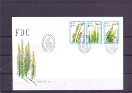 Sporväxter - FDC - Michel 187-189 - Mariehamn 2/1/2001  (RM13443) - Aland