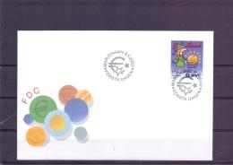 Introducing Euro Coins - FDC - Michel 198 - Mariehamn 2/1/2002   (RM13446) - Aland