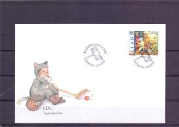 Tjugondagc Knut - FDC - Michel 201 - Mariehamn 2/1/2002   (RM13447) - Aland